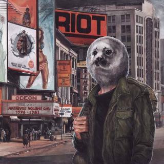RIOT - ARCHIVES VOLUME 1: 1976 - 1981 (SLIPCASE) CD/DVD (NEW)