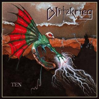 BLITZKRIEG - TEN (LTD EDITION 200 COPIES BLACK VINYL) LP (NEW)