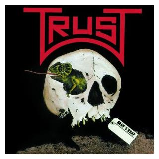 TRUST - MAN'S TRAP (JAPAN EDITION +OBI) LP