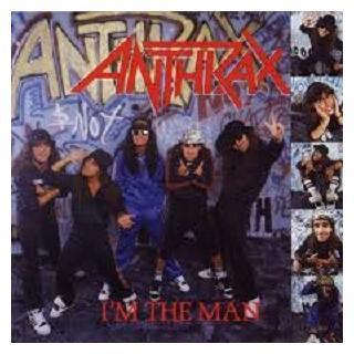 ANTHRAX - I'M THE MAN E.P. LP