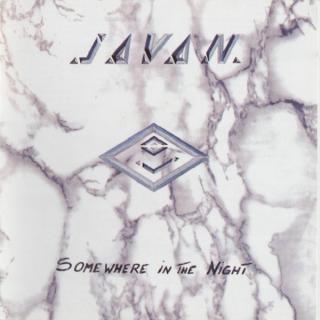 JAVAN - SOMEWHERE IN THE NIGHT CD