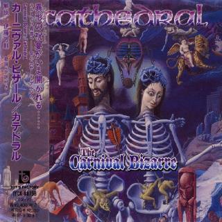 CATHEDRAL - THE CARNIVAL BIZARRE (JAPAN EDITION +OBI, +BONUS TRACK) CD
