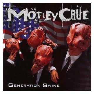 MOTLEY CRUE - GENERATION SWINE (JAPAN EDITION+OBI+HISTORY BOOK, PLASTIC SLIPCASE) CD