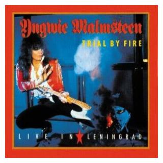 YNGWIE MALMSTEEN - TRIAL BY FIRE: LIVE IN LENINGRAD (JAPAN EDITION MINIATURE VINYL COVER +OBI) CD