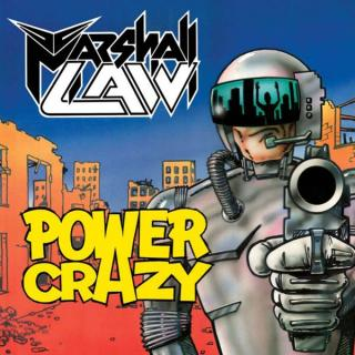 MARSHALL LAW - POWER CRAZY (LTD EDITION 400 COPIES) CD (NEW)