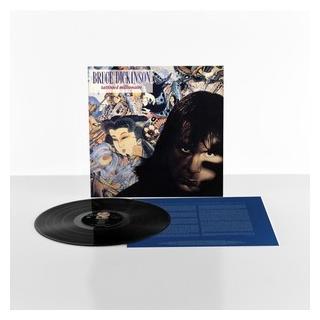 BRUCE DICKINSON - TATTOOED MILLIONAIRE (180 GRAM. BLACK VINYL, 2017 RE-ISSUE) LP (NEW)