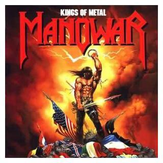 MANOWAR - KINGS OF METAL (JAPAN EDITION +OBI, +BONUS TRACK) CD