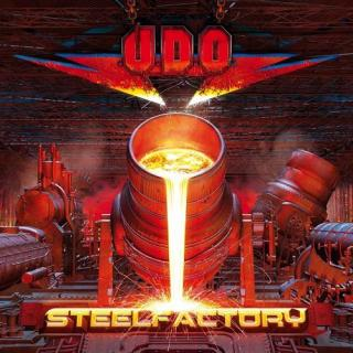 UDO - STEELFACTORY (LTD EDITION 150 COPIES GOLD VINYL, GATEFOLD) 2LP (NEW)