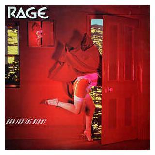 RAGE - RUN FOR THE NIGHT LP