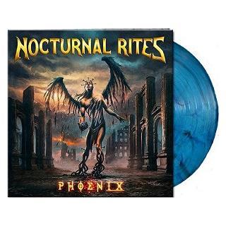 NOCTURNAL RITES - PHOENIX (LTD EDITION 250 COPIES BLUE/BLACK MARBLED VINYL, GATEFOLD) LP (NEW)