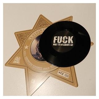 """CHRIS HOLMES - SHITTING BRICKS (LTD EDITION 250 HAND NUMBERED SPECIAL 12""""-SIZED MARSHAL STAR PACKAGING) 7"""" (NEW)"""