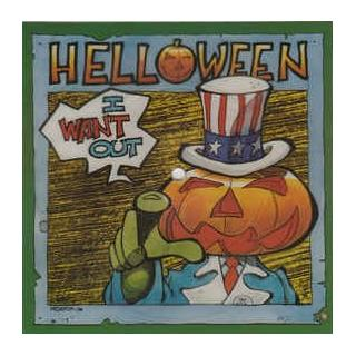 """HELLOWEEN - I WANT OUT (BLUE VINYL, POSTER BAG) 7"""""""