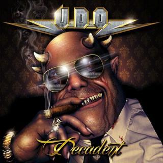 UDO - DECADENT (DIGIPAK + 2 BONUS TRACKS) CD (NEW)