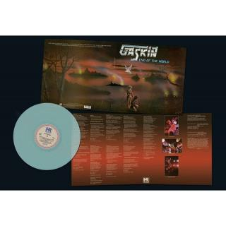 GASKIN - END OF THE WORLD (LTD EDITION 300 COPIES ELECTRIC BLUE VINYL, GATEFOLD) LP (NEW)