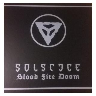 SOLSTICE - BLOOD FIRE DOOM (LTD EDITION BOXSET 250 COPIES RED SPLATTER VINYL) BOX SET (NEW)