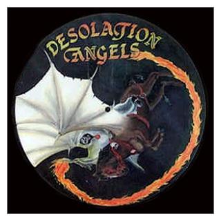 DESOLATION ANGELS - WHILE THE FLAME STILL BURNS (LTD EDITION 250 COPIES PICTURE DISC +LYRICS) LP