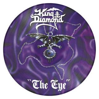 KING DIAMOND - THE EYE (LTD EDITION 2000 COPIES PICTURE DISC) LP (NEW)