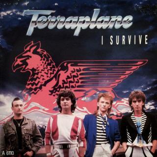 "TERRAPLANE - I SURVIVE (2 TRACKS) 12"" LP"