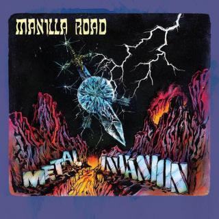 MANILLA ROAD - METAL/INVASION (REMASTERED) 2CD (NEW)