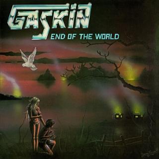 GASKIN - END OF THE WORLD (LTD EDITION 300 COPIES ELECTRIC BLUE VINYL, GATEFOLD) LP (NEW)