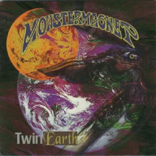 MONSTER MAGNET - TWIN EARTH E.P. (SPECIAL LTD EDITION ETCHED DISC, +BONUS LIVE TRACKS) LP