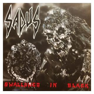 SADUS - SWALLOWED IN BLACK (LTD EDITION 300 COPIES RED VINYL) LP (NEW)