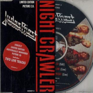 JUDAS PRIEST - NIGHT CRAWLER (LIMITED NUMBERED EDITION PICTURE CD) CD'S