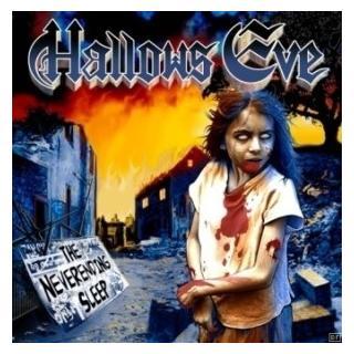 HALLOWS EVE - THE NEVER ENDING SLEEP (LTD EDITION 300 COPIES BLACK VINYL) LP (NEW)