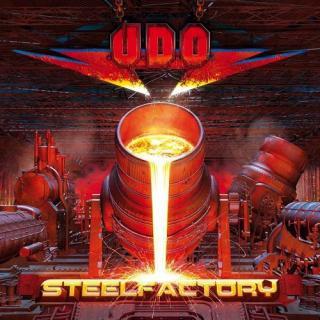 UDO - STEELFACTORY (LTD EDITION 500 COPIES CLEAR RED VINYL, GATEFOLD) 2LP (NEW)