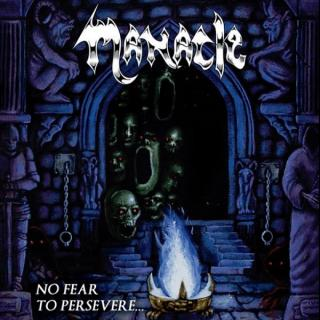 MANACLE - NO FEAR TO PERSEVERE (LTD EDITION 100 COPIES BLUE VINYL) LP (NEW)