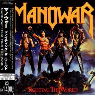 MANOWAR - FIGHTING THE WORLD (JAPAN EDITION +OBI) CD