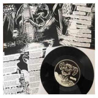 "ANGEL SWORD - KALLIO ROCK CITY (LTD EDITION 233 HAND-NUMBERED COPIES BLACK VINYL) 7"" (NEW)"