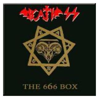 """DEATH SS - THE 666 BOX (AUTOGRAPHED & NUMBERED BY STEVE SYLVESTER) 6 X 7"""" EP"""