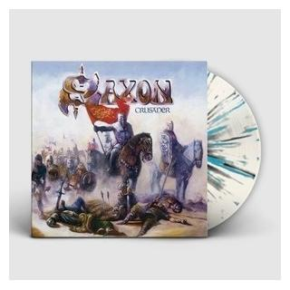 SAXON - CRUSADER (2018 REISSUE, LTD EDITION SPLATTER VINYL) LP (NEW)